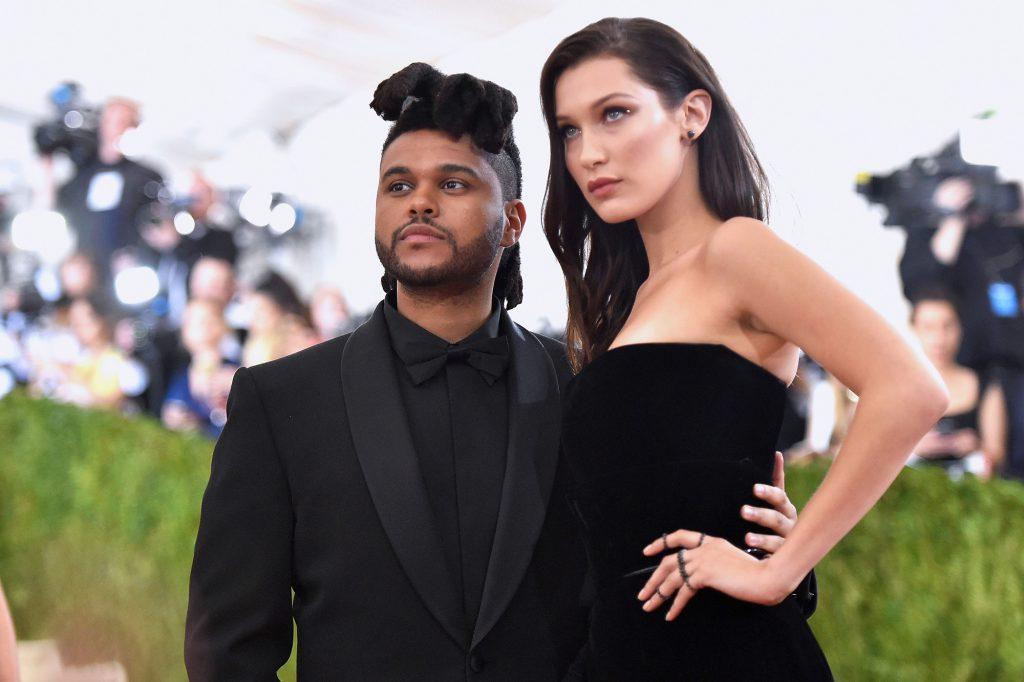 Белла Хадид и The Weeknd, май 2016