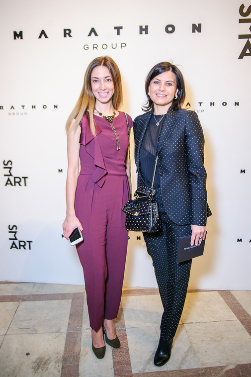 Ольга Дашевская и Ирина Россиус