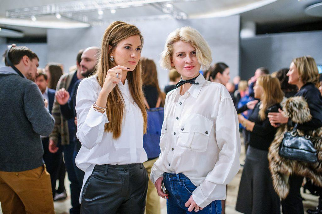Екатерина Винокурова и Полина Киценко