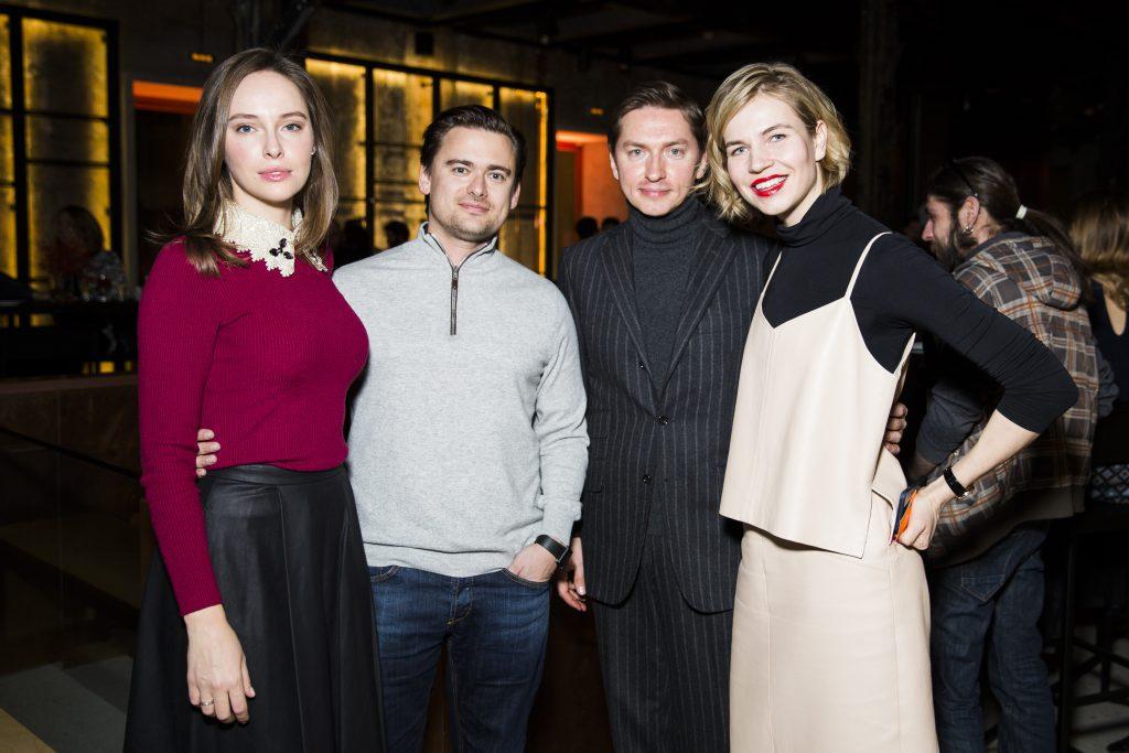 Ирина и Борис Жарковы, Игорь Гаранин и Ксения Тараканова