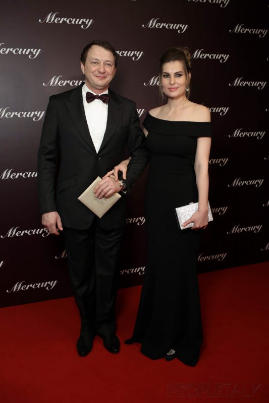 — Марат Башаров и Екатерина Архарова