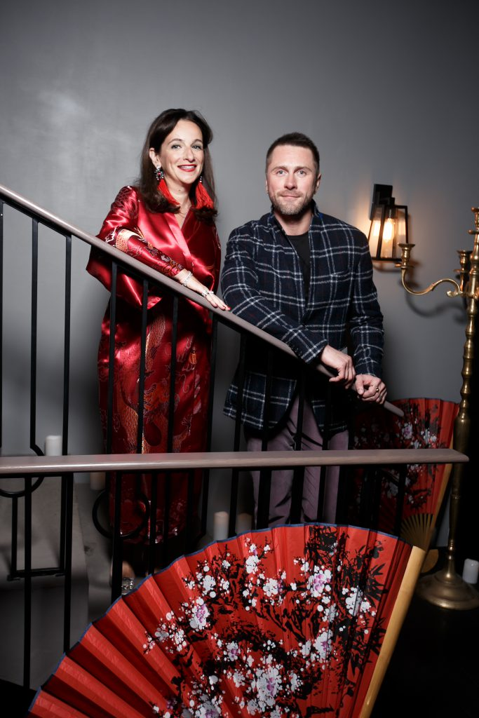 Юлия Фиш и Константин Гайдай