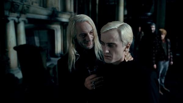 Люциус и Драко Малфои