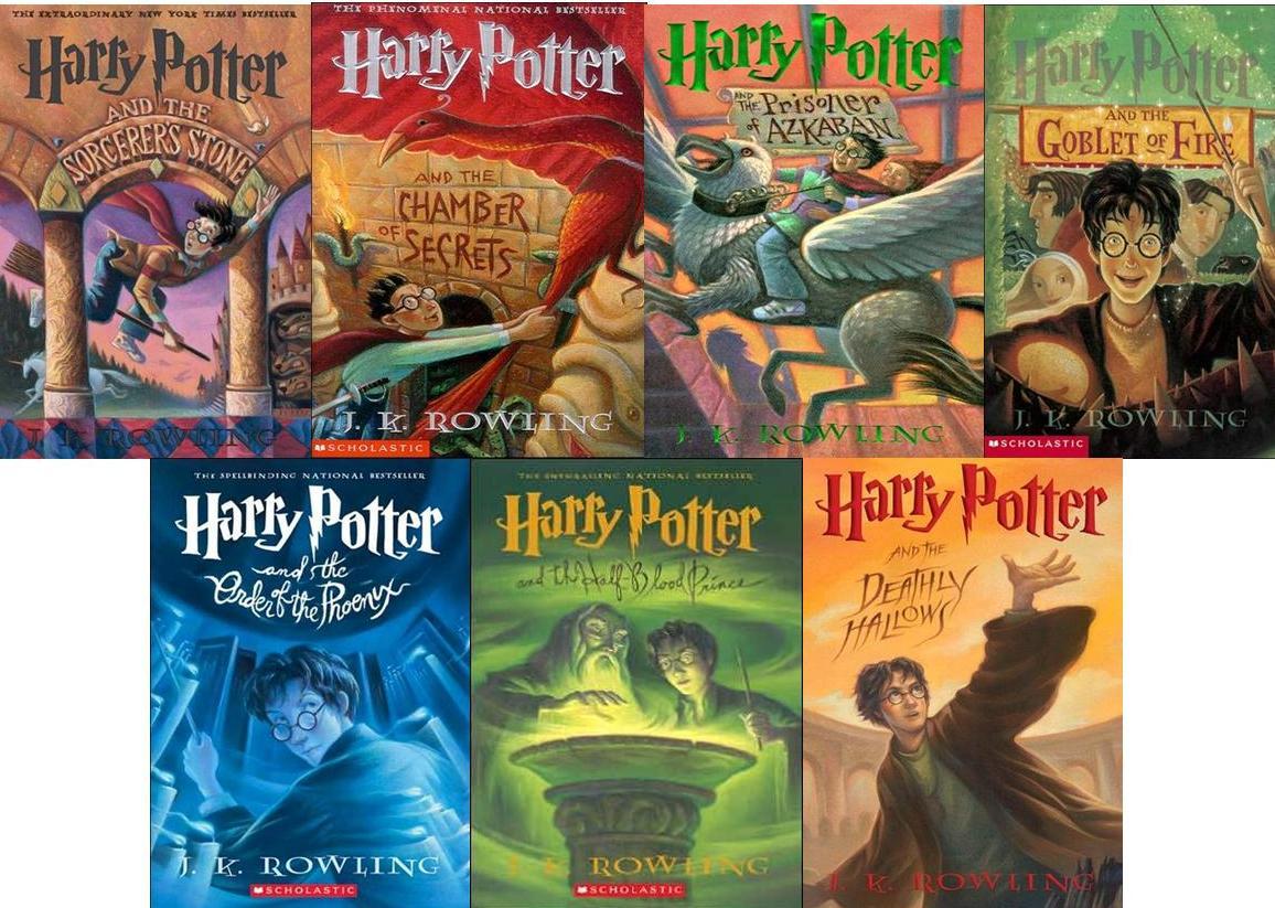 Серия книг «Гарри Поттер»