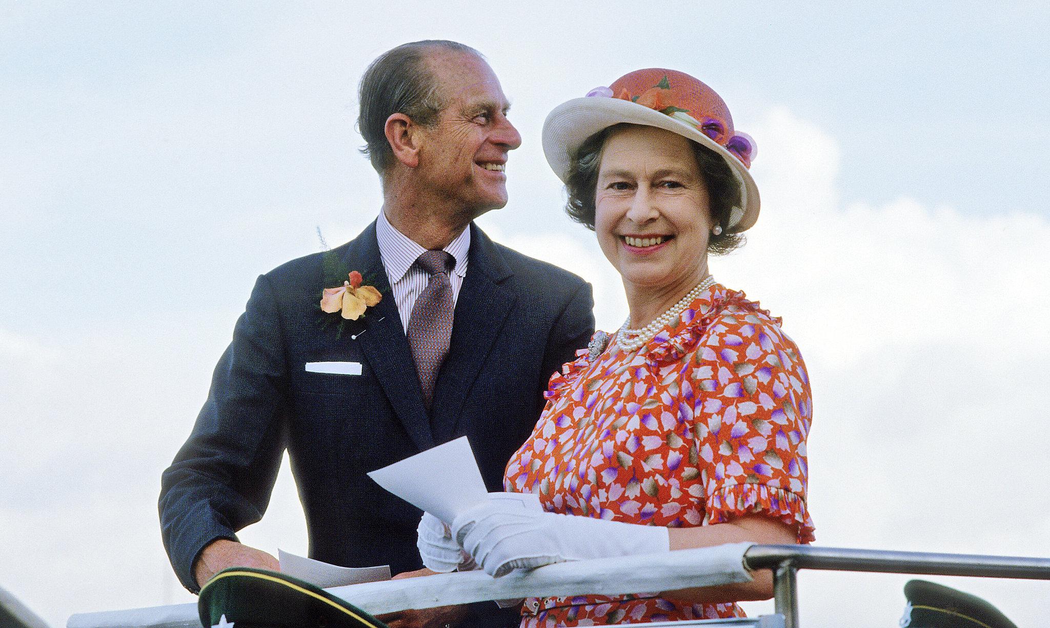 Герцог Эдинбургский и королева Елизавета II