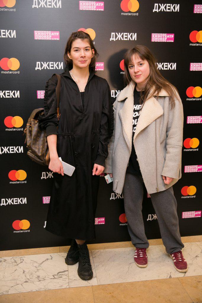 Александра Михалкова и Анна Вельмакина