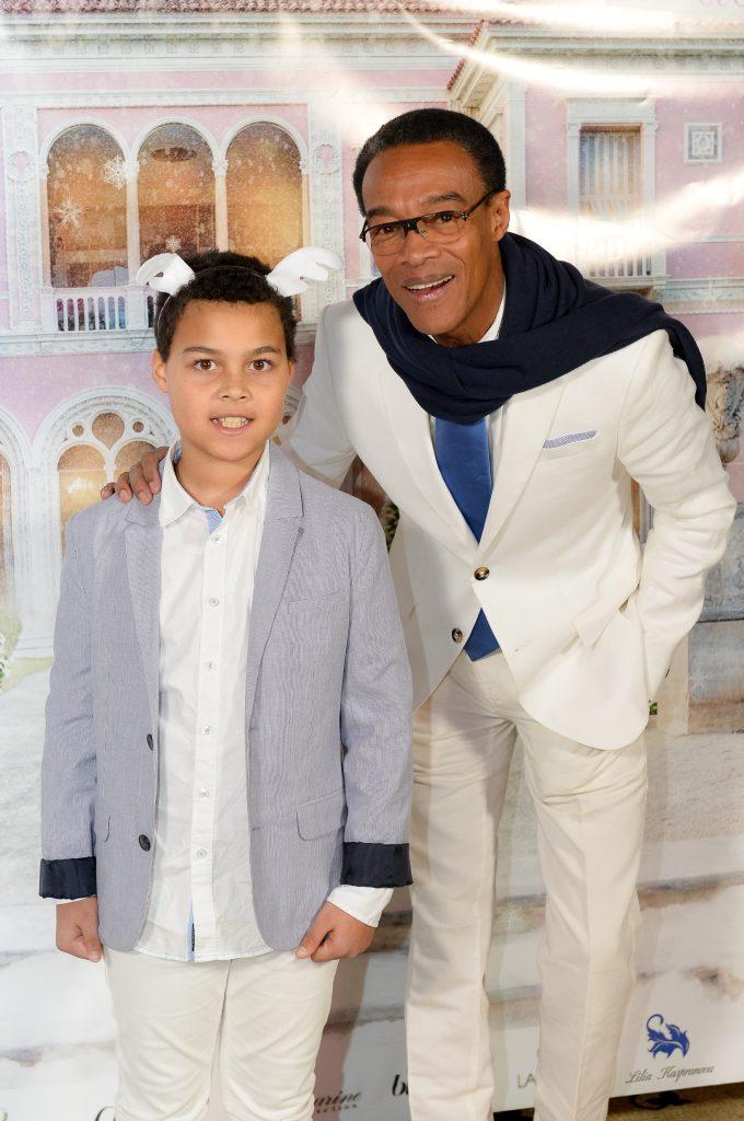 Жан-Камий Ояк с сыном