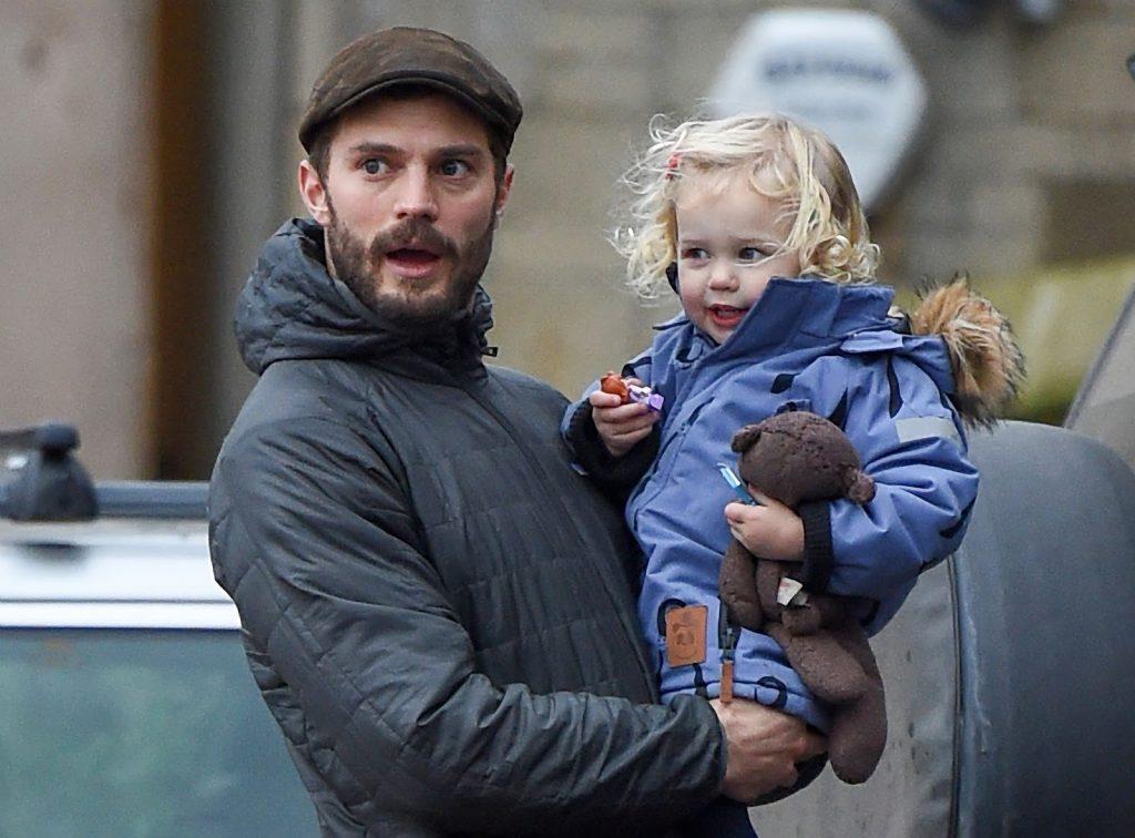 Джейми с дочкой Далси, 02.02.2017