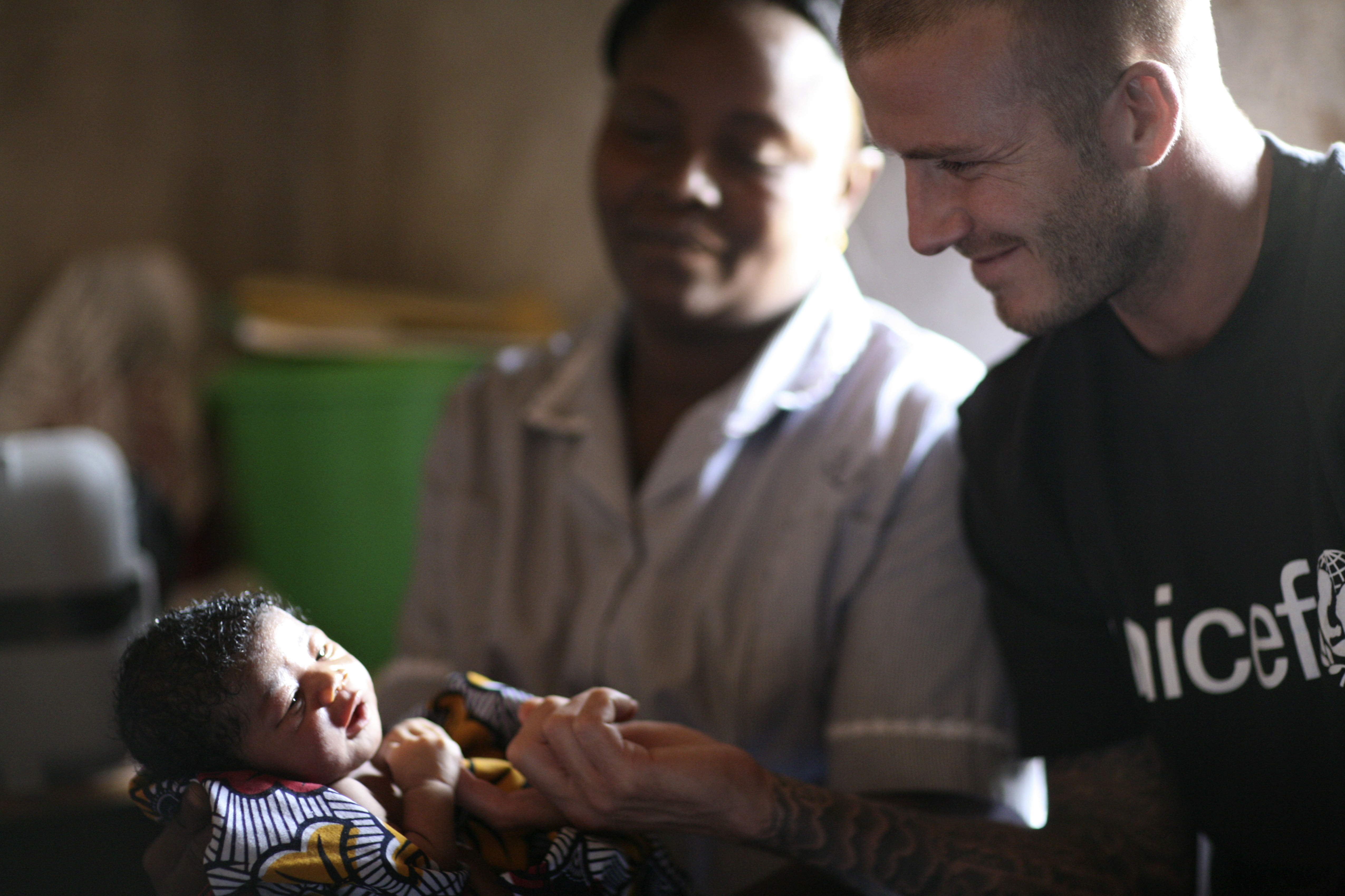 Дэвид Бекхэм (Сьерра-Леоне, Африка. 19 января)