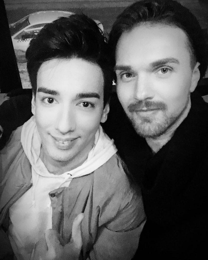 Александр Панайотов и Сардор Милано  после концерта в Челябинске