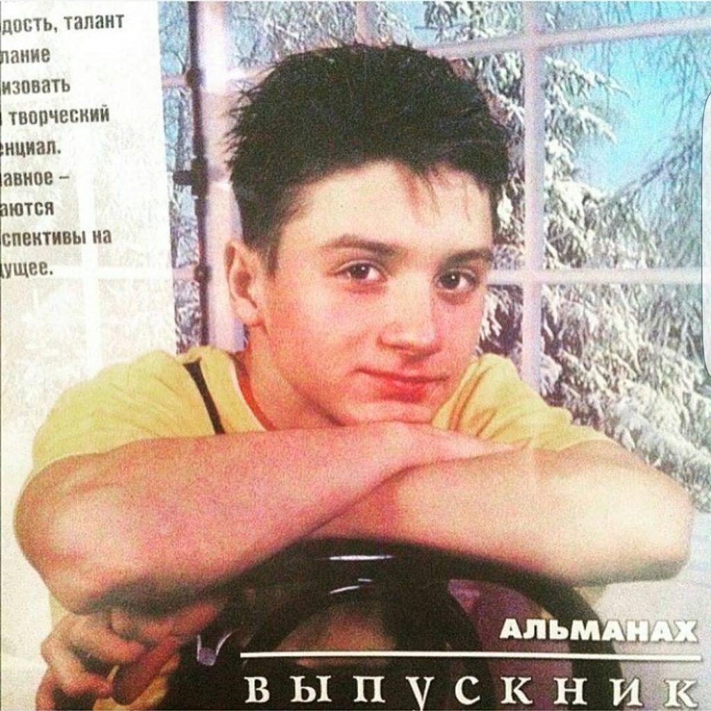 Сергей Лазарев поделился своей первой обложкой журнала