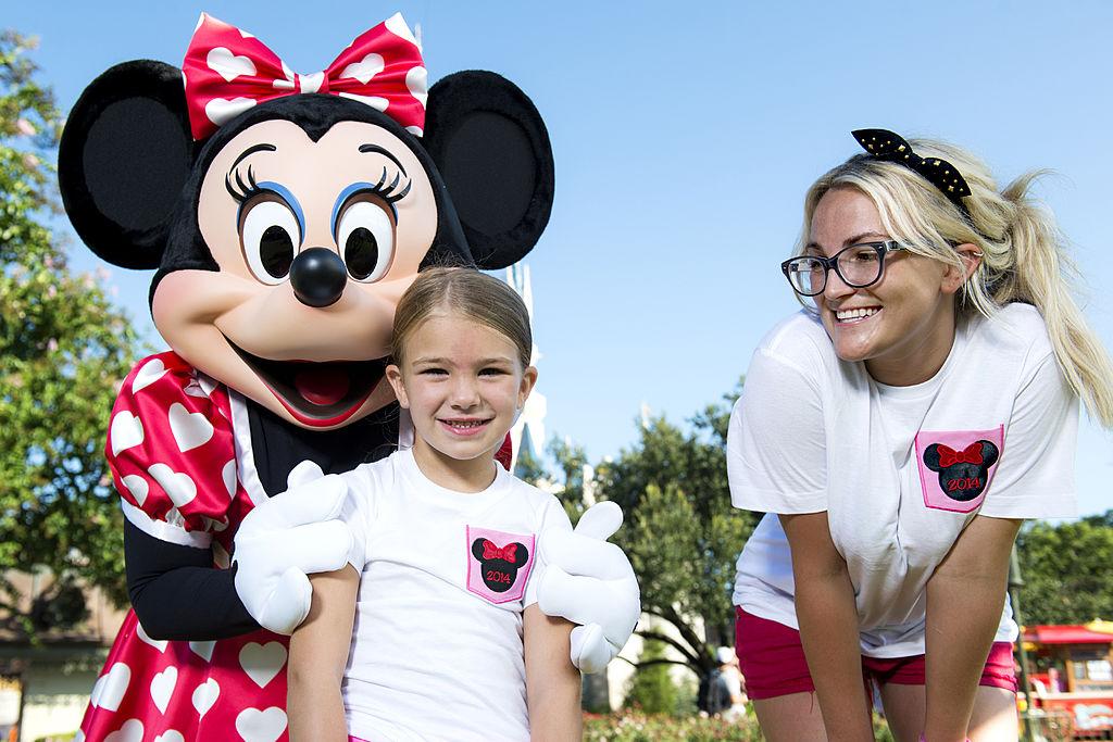 Джейми Линн с дочерью Мэдди