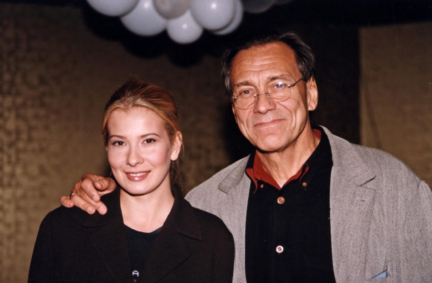 Юлия Высоцкая и Андрей Кончаловский в 90-е