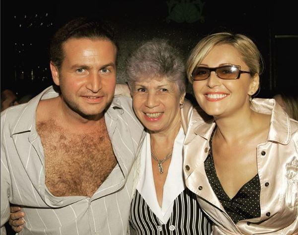 Леонид Агутин, его мама и Анжелика Варум