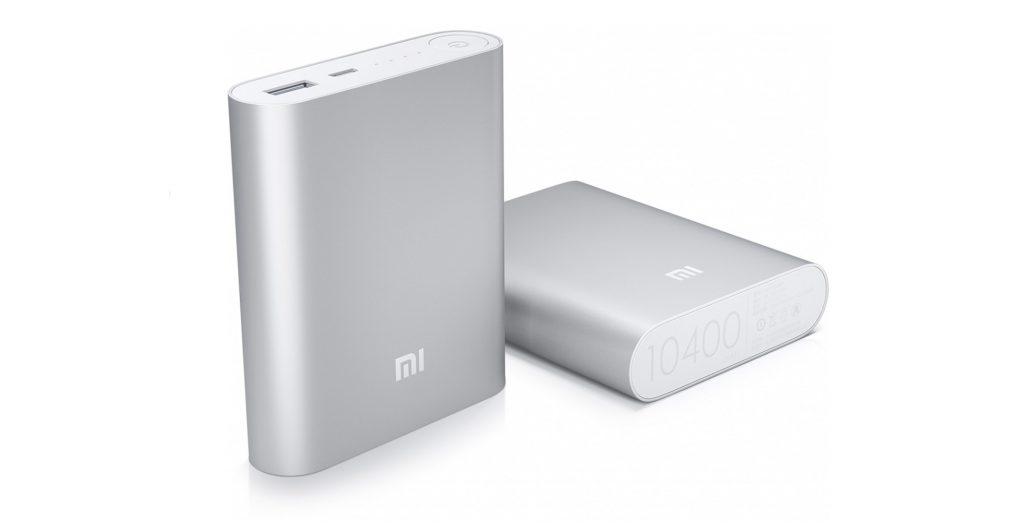 Портативная зарядка Xiaomi 10400, 1 248 р. (megamind.ru)