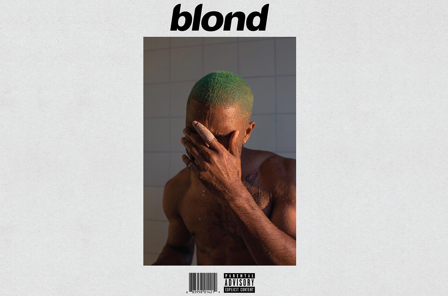 Обложка альбома Фрэнка Оушена Blonde