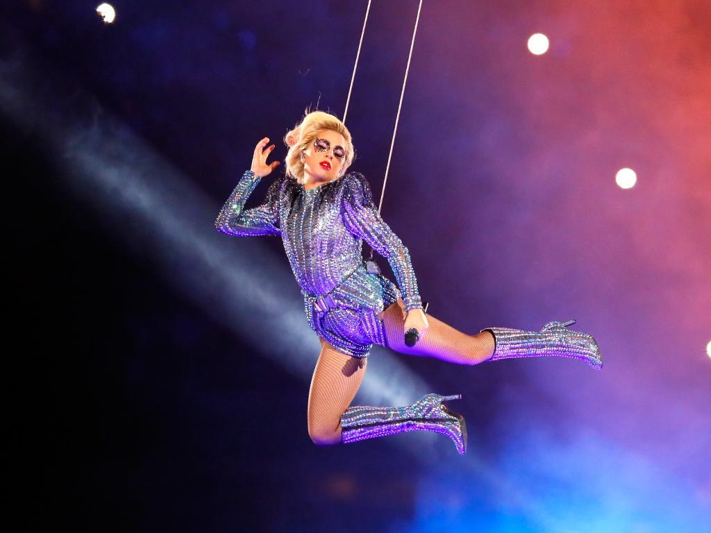 Леди Гага на Superbowl