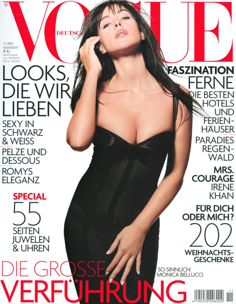 Vogue Германия, ноябрь 2003