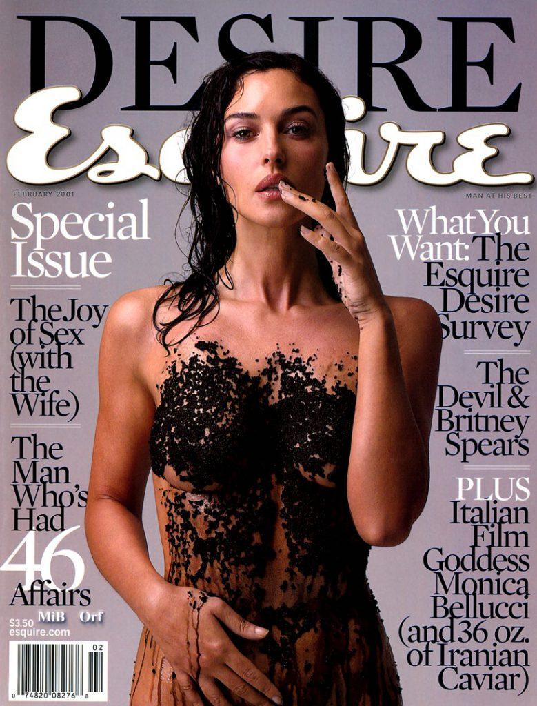 Esquire, февраль 2001