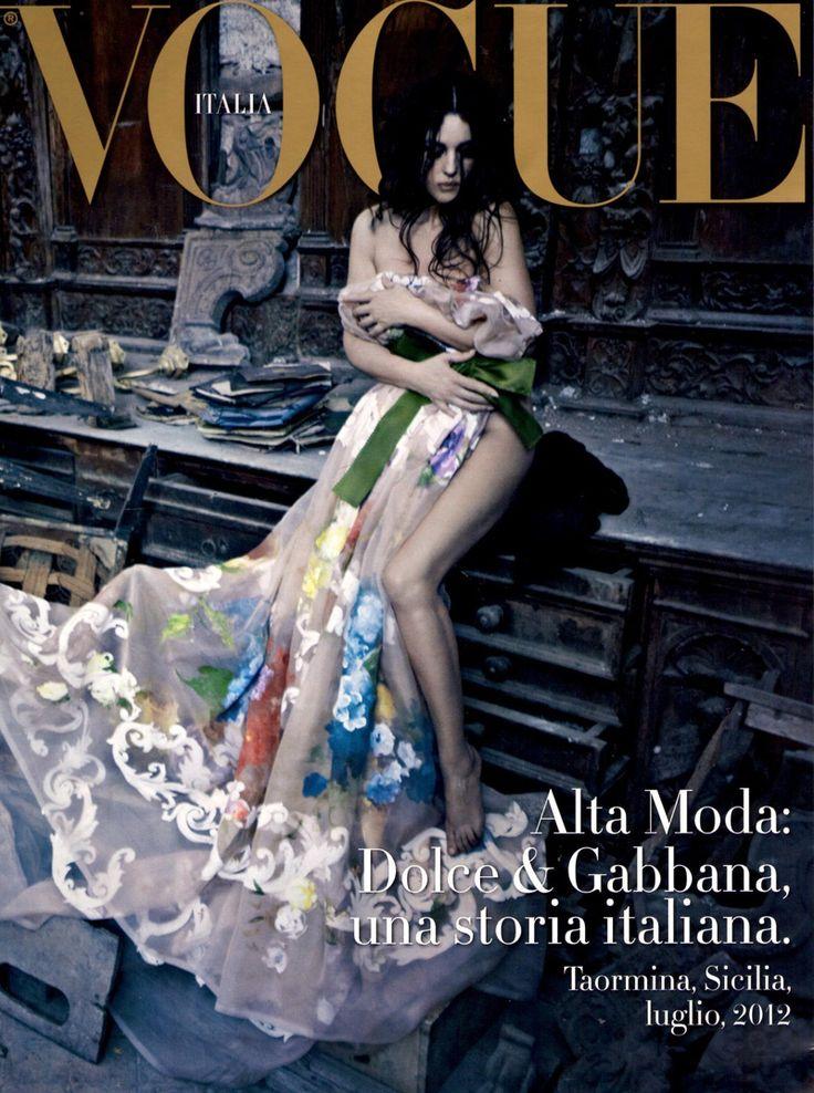 Vogue Италия, июль 2012