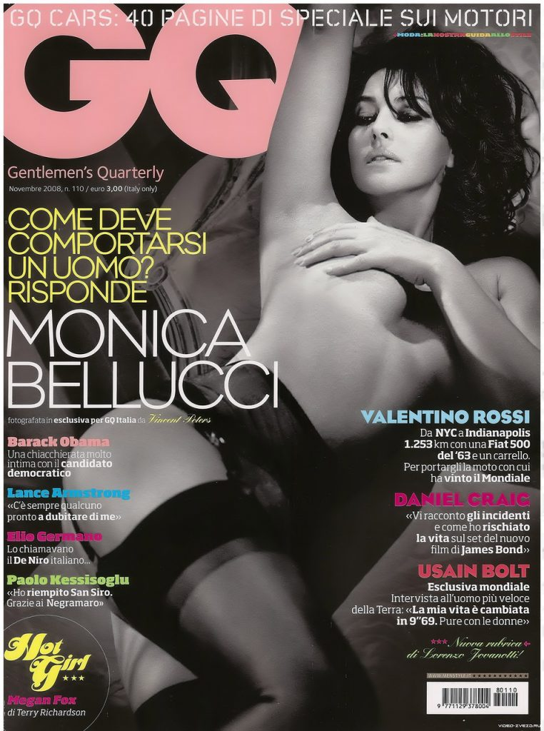 GQ Италия, ноябрь 2008
