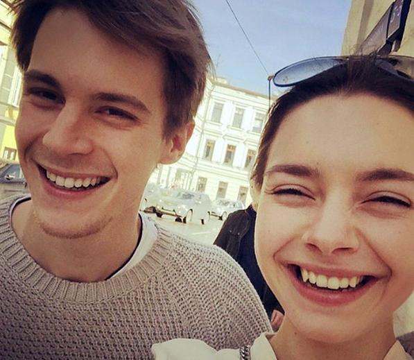 Иван Янковский и Вера Панфилова (Фото@ivanfilippovich)