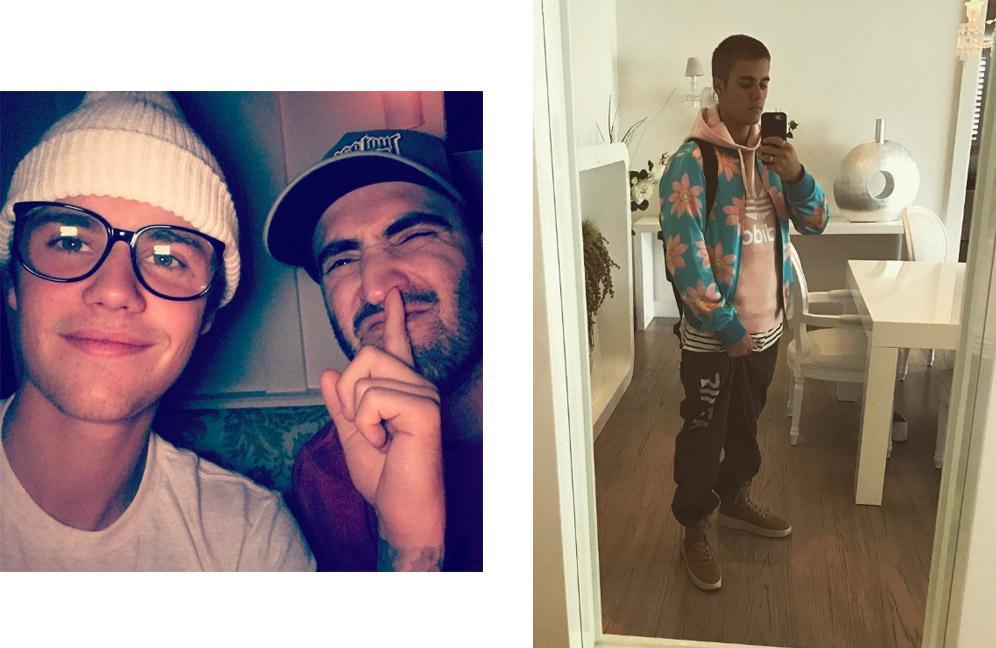 Новые фото Джастина Бибера в Instagram
