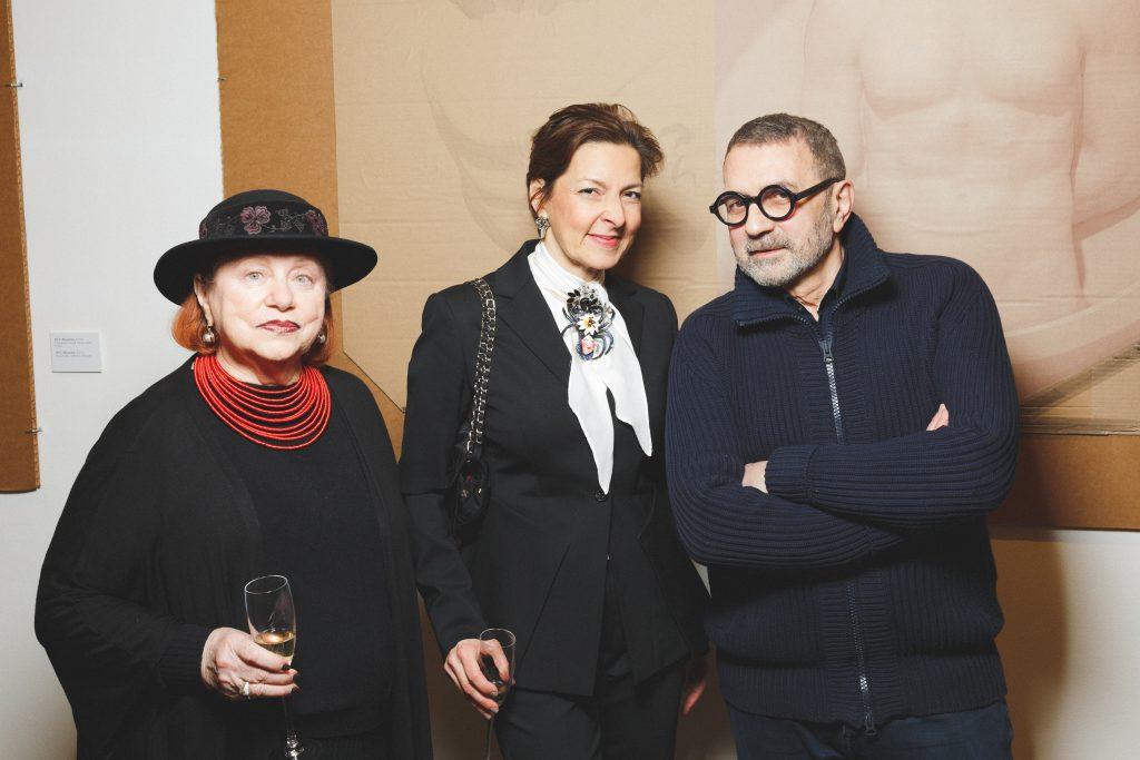 Ольга Страда и Гриша Брускин