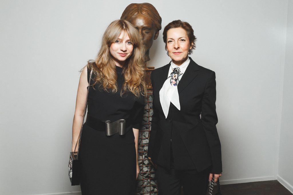 Кристина Краснянская и Ольга Страда