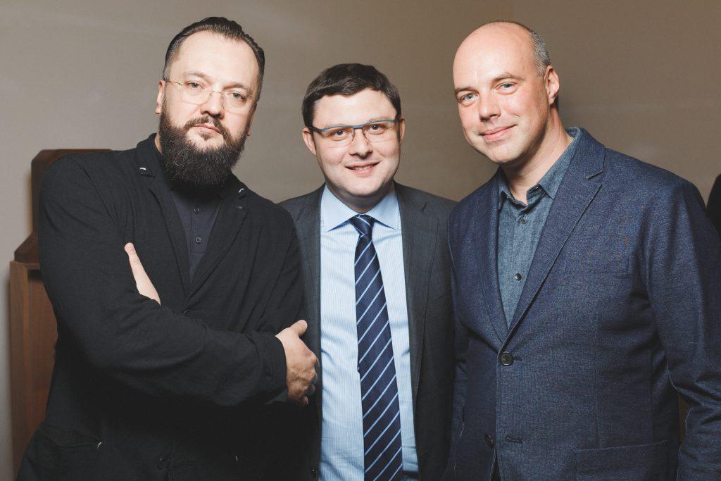 Алексей Морозов, Василий Церетели и Евгений Егоров