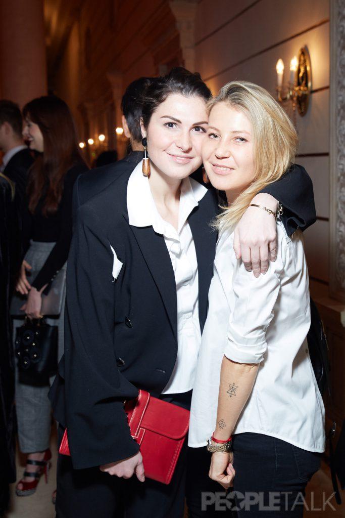 Лаура Джугелия и Екатерина Комолова