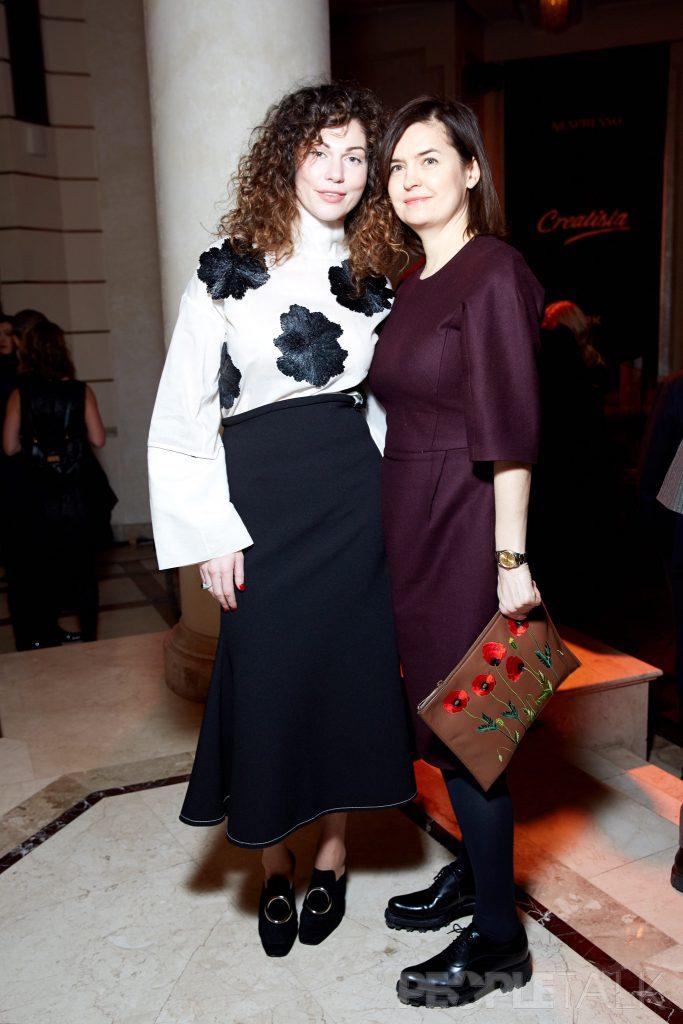 Евгения Линович и Елена Зайцева