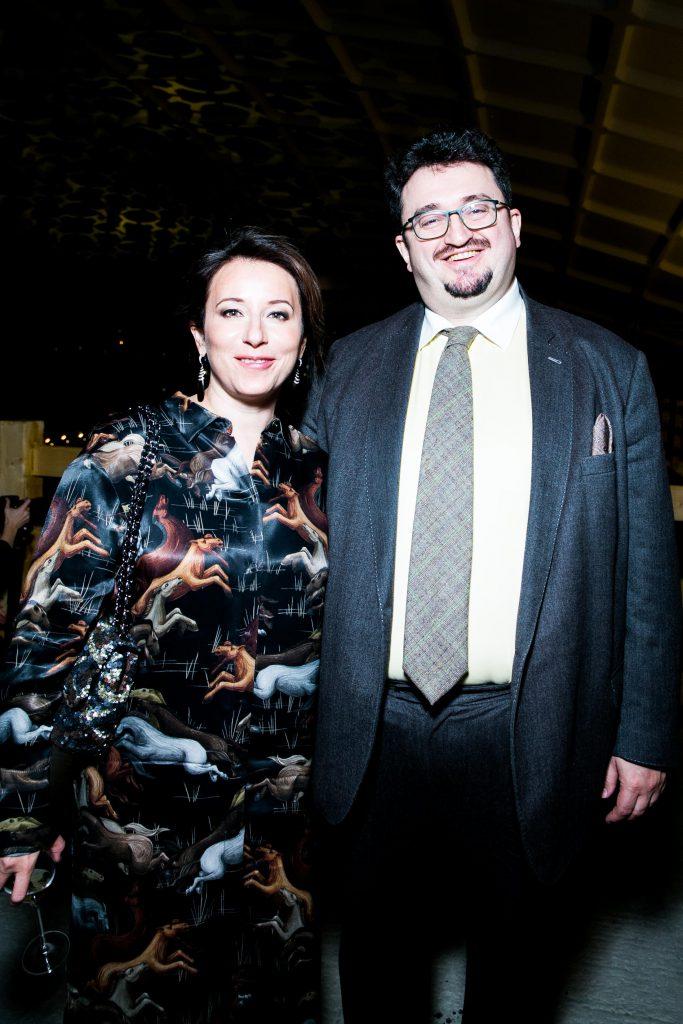 Наталья Тимакова и Александр Будберг
