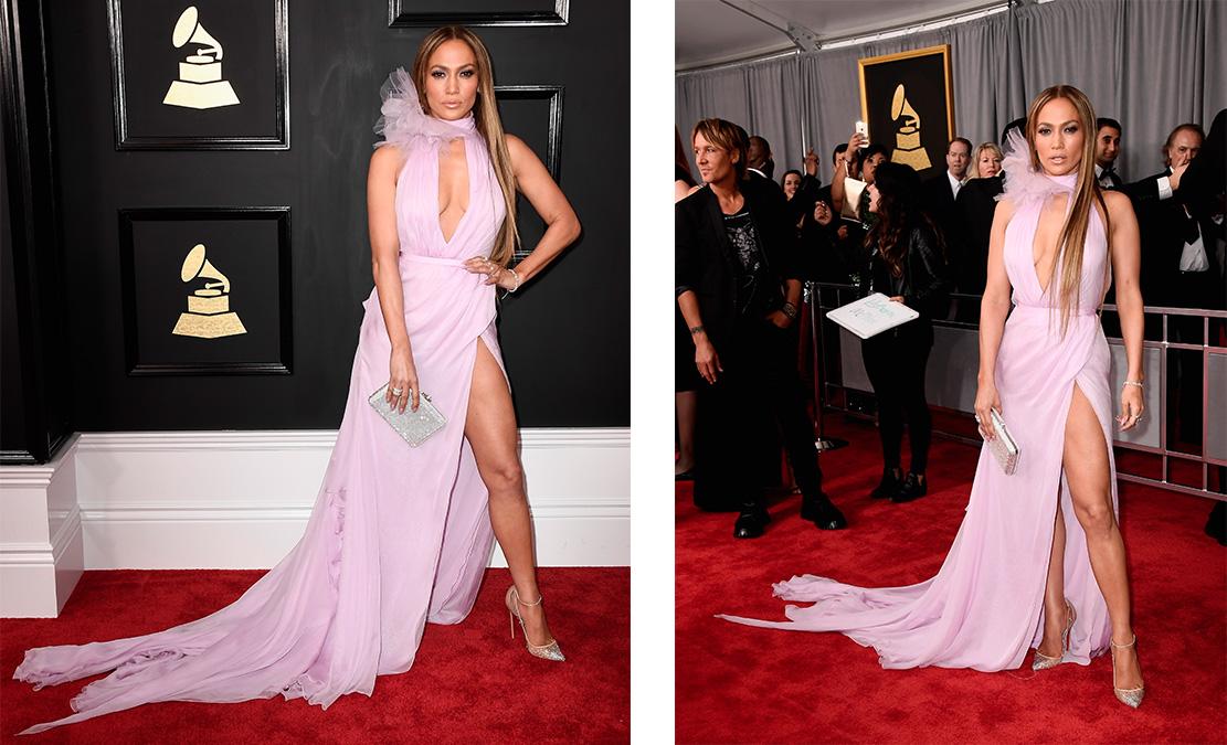 Дженнифер Лопес в платье Ralph & Russo