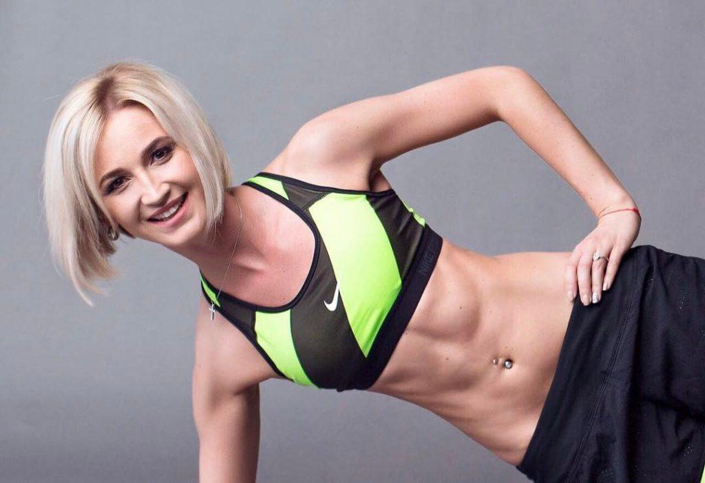 Ольга Бузова занималась спортом