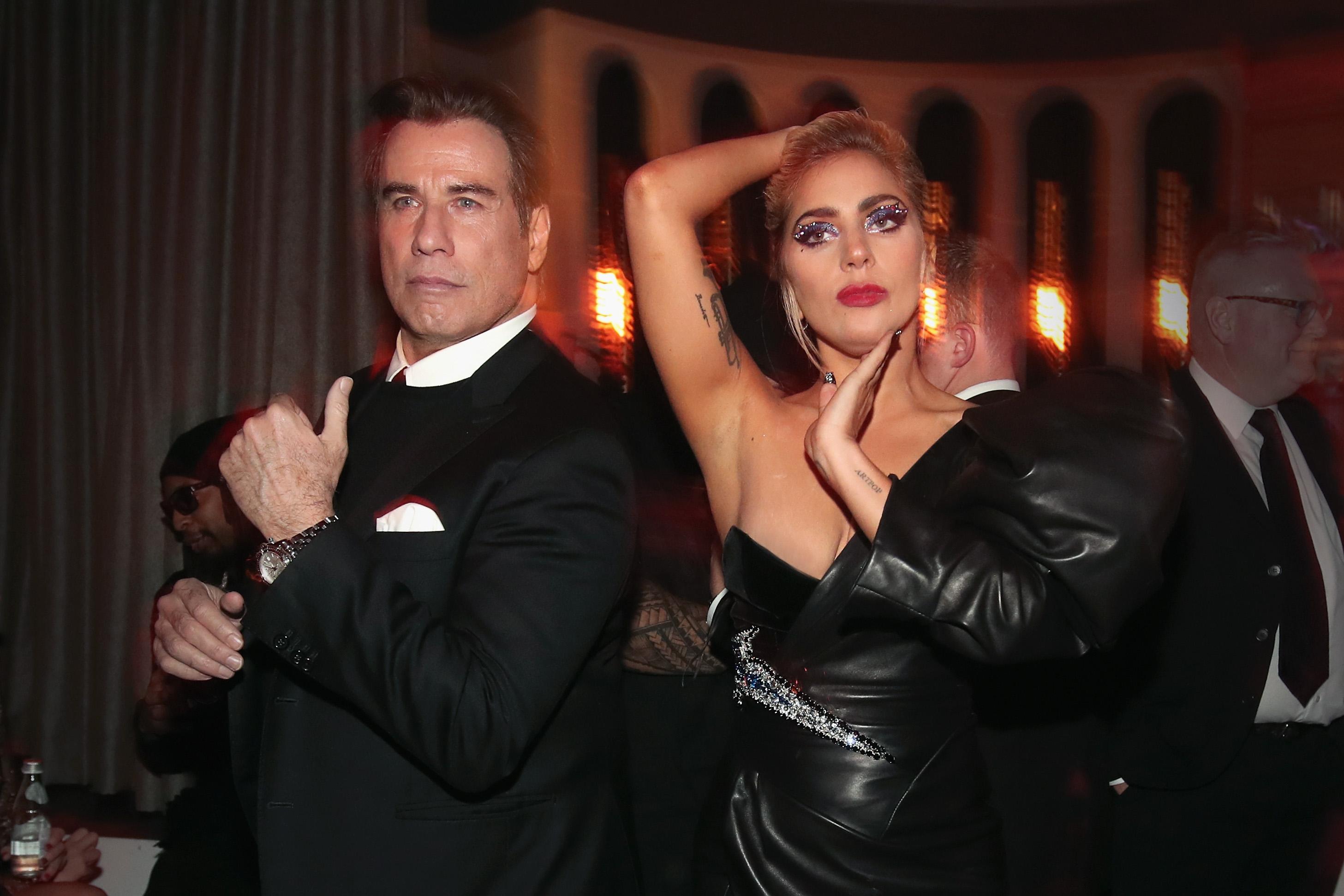 Леди Гага и Джон Траволта