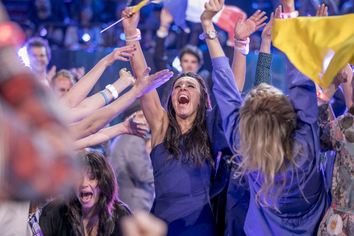 Джамала - победительница «Евровидения - 2016»