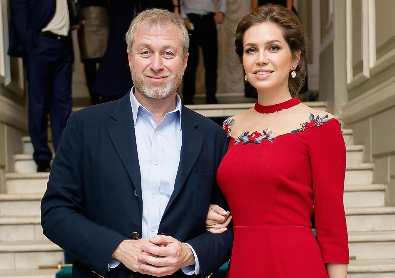 Роман Абрамович и Даша Жукова
