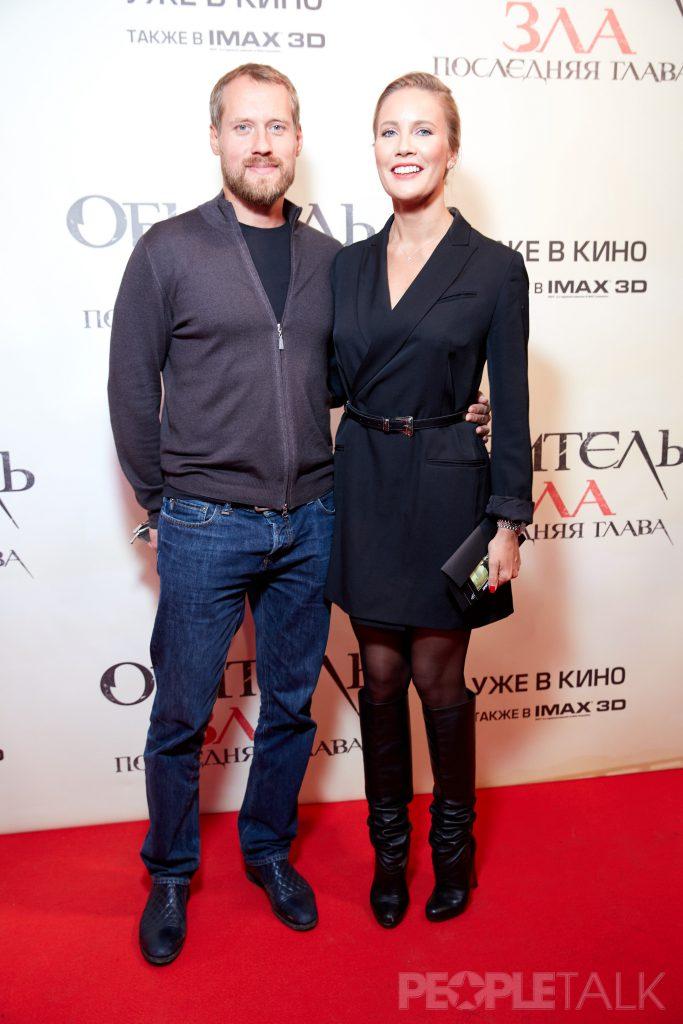 Юрий Анашенков и Елена Летучая