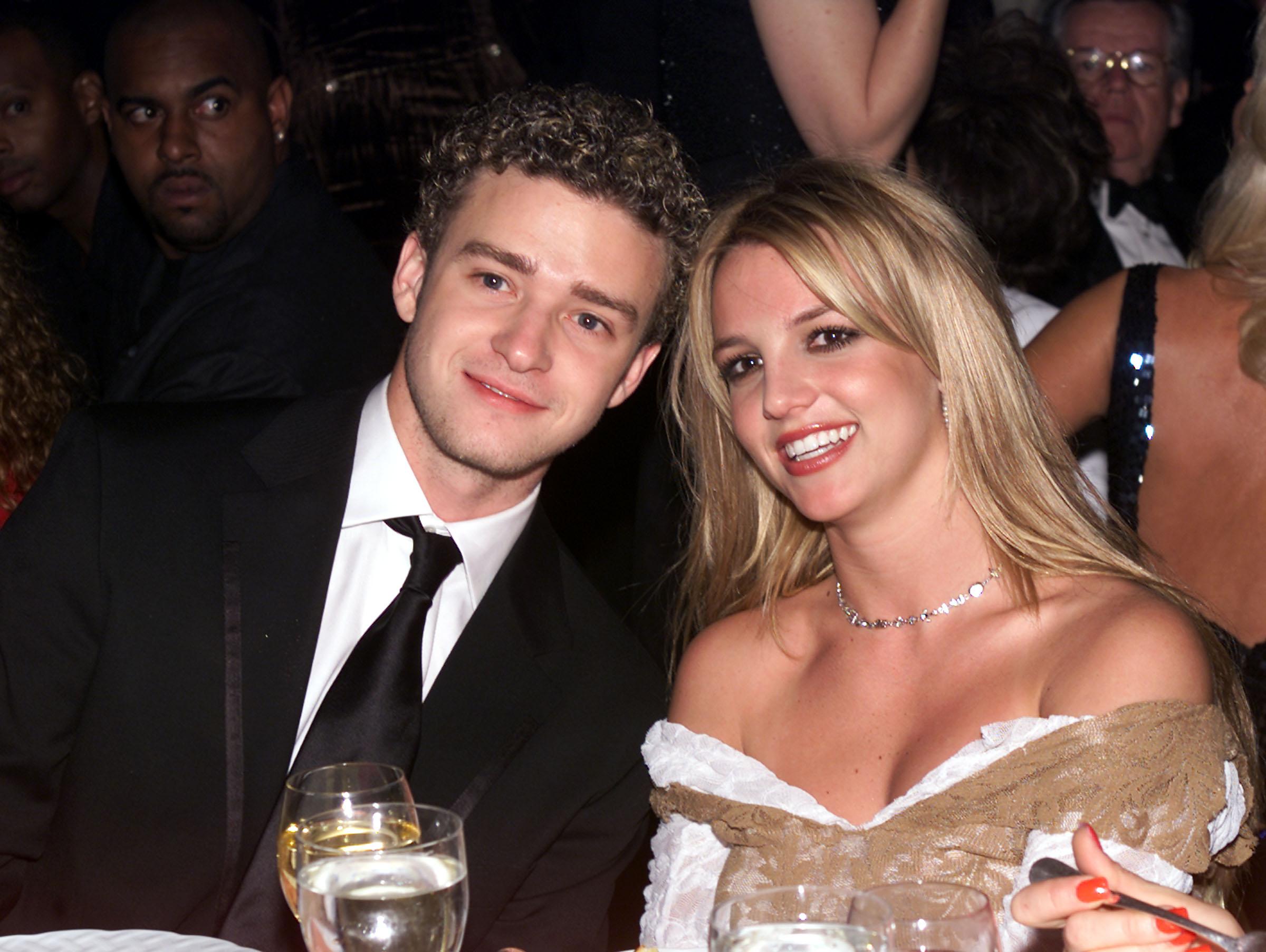 Джастин Тимберлейк и Бритни Спирс встречались четыре года