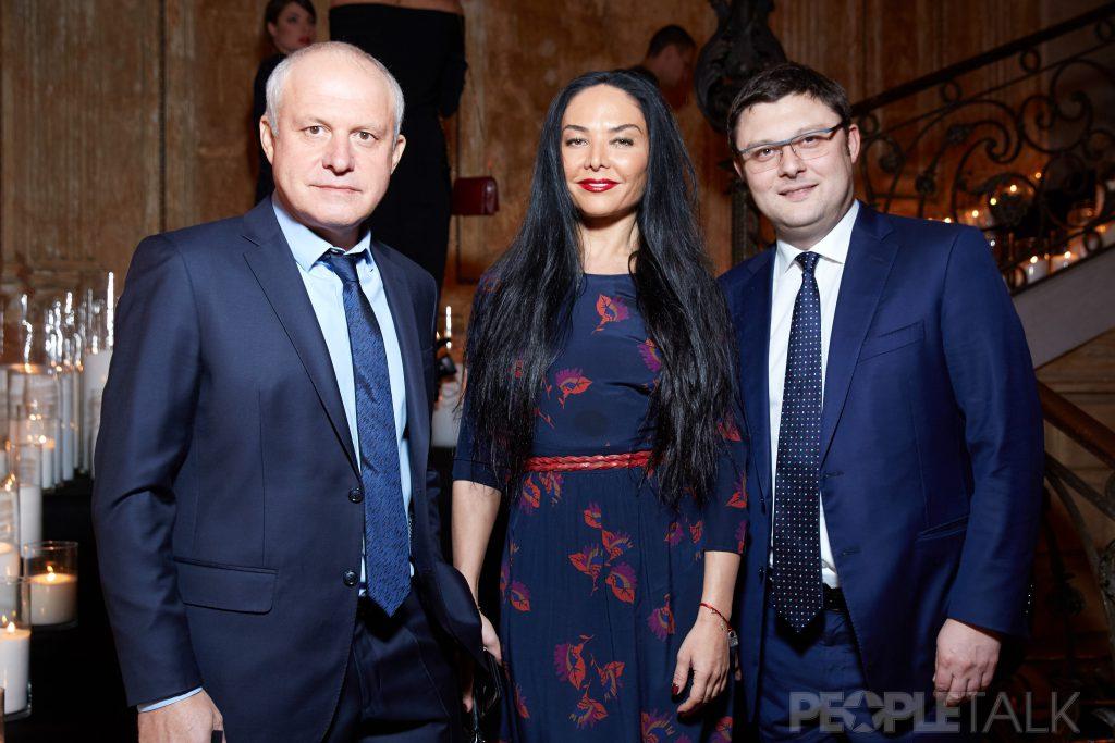 Леонид Огарев, Миранда Мирианашвили и Василий Церетели
