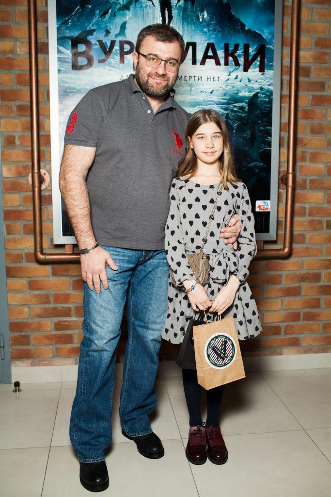 Михаил Пореченков с дочерью