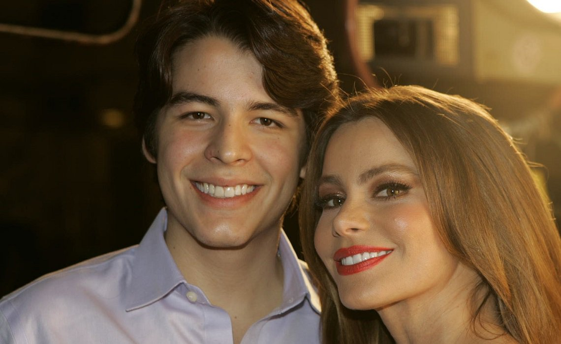 София Вергара с сыном Маноло