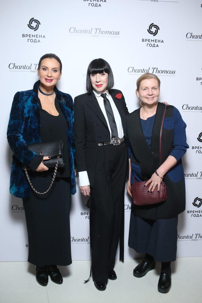 Екатерина Стриженова, Шанталь Томасс и Виктория Андреянова