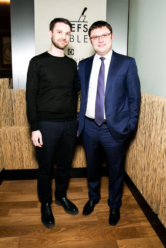 Алексей Новоселов и Василий Церетели