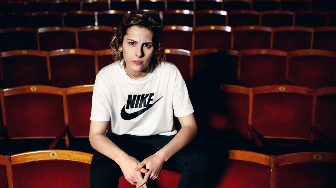 Ирина Горбачева в рекламной кампании Nike