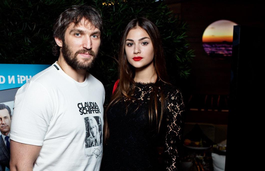 Александр Овчекин и Анастасия Шубская