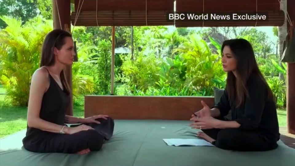 Анджелина Джоли дала первое интервью после развода