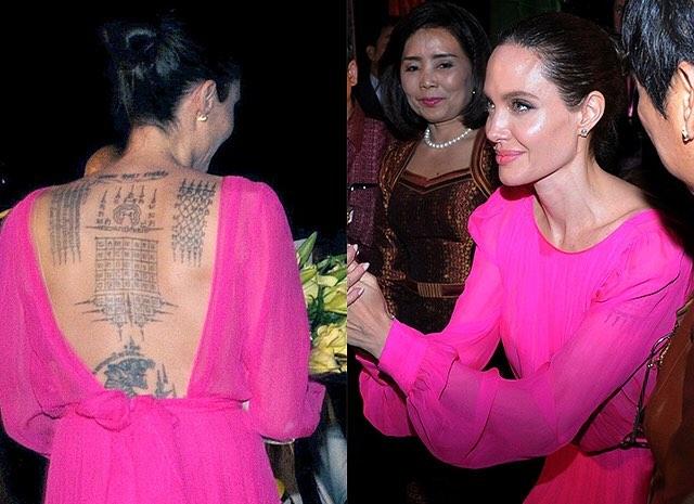 Анджелина Джоли на презентации фильма