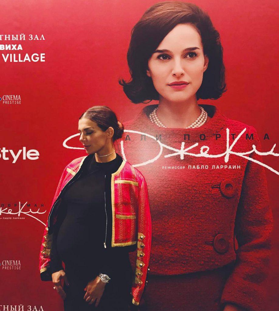 Анна Седокова посетила премьеру фильма «Джеки»